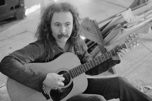 David Crosby Playing Guitar